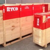 Ryco exhibition shipping crates