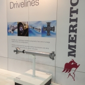 Meritor stand prints and product display