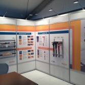 Industry focussed exhibition product information panels