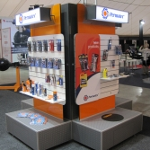 Custom made modular exhibition/product display stands