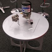 Custom made product display table