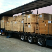 """Full Service"" includes the safe storage and transport of goods to and from any display requirement."