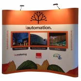 Popup Banner with lights