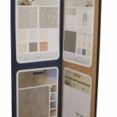 Tile sample product display stand