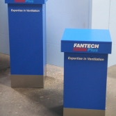 Showroom/exhibition product display plinths