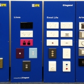 Upgradeable wall panel product displays