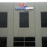 3D external building signage