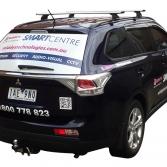 Vehicle Branding - side/rear