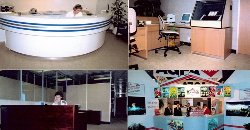 Blast from the Past – reception counters & work stations