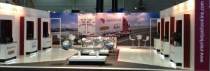 BTS 2015 Meritor exhibition stand