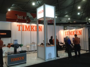 BTS 2015 Timken exhibition stand