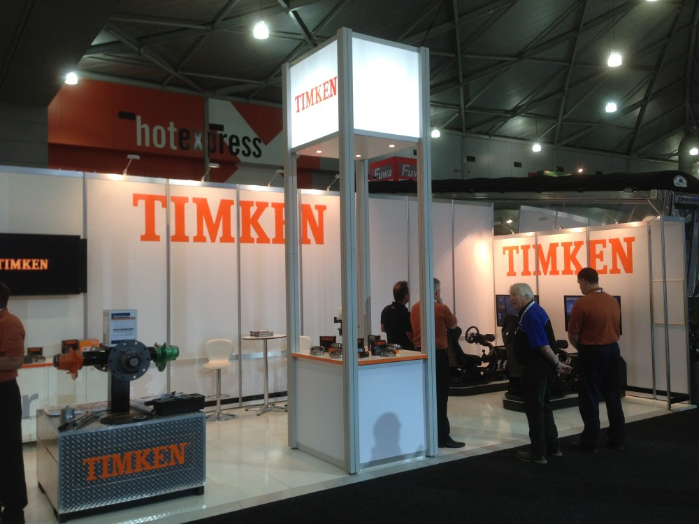 Exhibition Stand Builders Brisbane : Timken exhibition stand bts displayrite resources